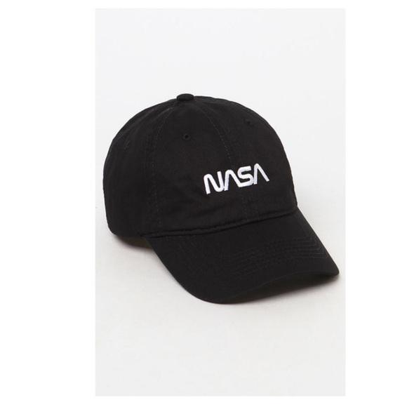 Pacsun Nasa worm strap back Dad hat 0a15764b625